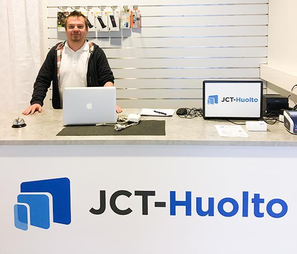 JCT-Huolto palvelee Veskassa