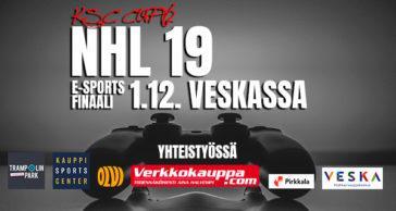 NHL 19 E-Sports Finaali 1.12.