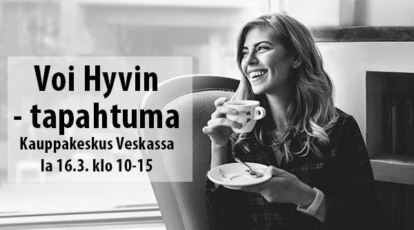 Voi Hyvin -tapahtuma 16.3. klo 10-15